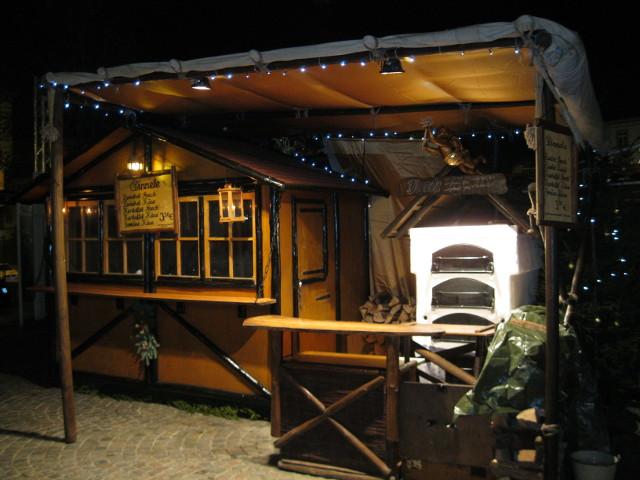 Hütte-Weihnachtsmarkt